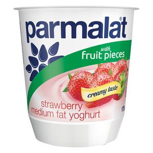 Parmalat Low Fat Strawberry Fruit Yoghurt 175g