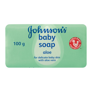 Johnson's Baby Aloe Vera Bab Y Soap 100 Gr