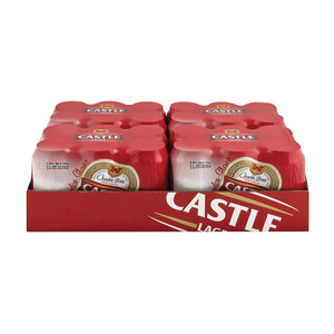 Castle Lager Beer Can 330ml x 24
