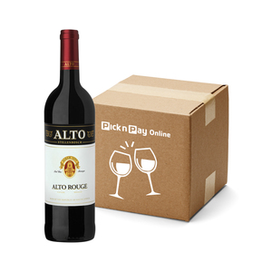Alto Rouge Wine 750ml x 3