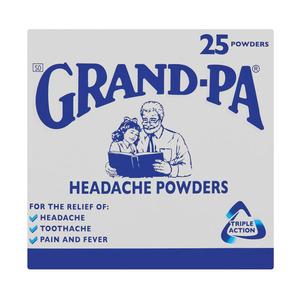 Grand-pa Headache Powders 25