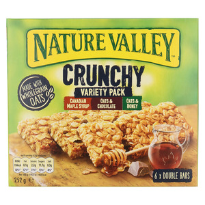 Nature Valley Variety Crunch y Bar Multi Pack 6