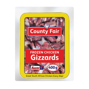 County Fair Frozen Chicken Gizzards 400g