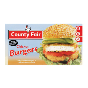 County Fair Chicken Burger 400g