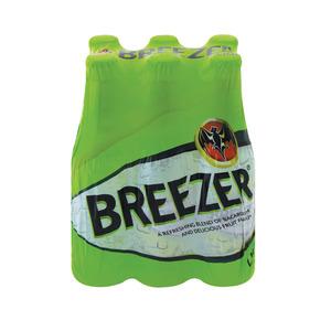 Breezer Lime Spirit Cooler 275ml x 6