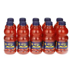 Krush 100% Berries Krush Fru it Juice Blend 500 ML x 10