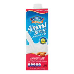 Almond Breeze Milk Unsweetened 1 Litre