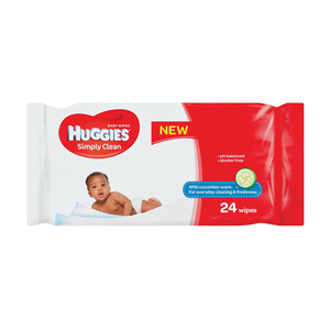 Huggies Baby Wipes X 24