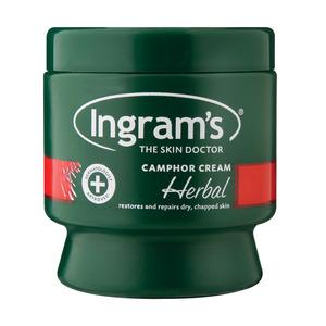 Ingram's Medicated Herbal Ca mphor Cream 150 GR