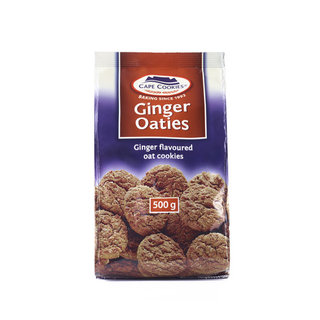 Cape Cookies Ginger Oaties 500g
