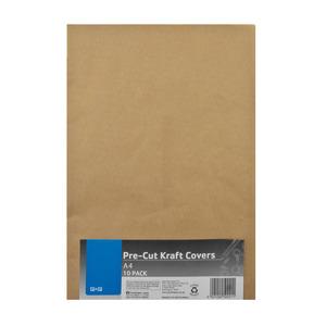 PnP A4 Pre Cut Kraft Cover 10pc