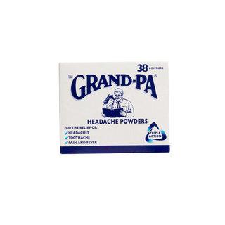 Grand-pa Headache Powders X 38 x 12