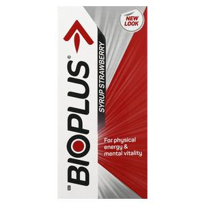 Bioplus Strawberry Syrup 200ml