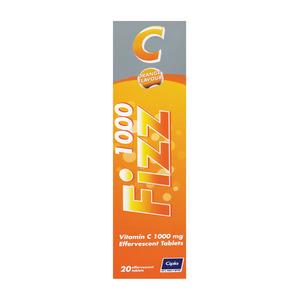 Cipla-medpro Fizz-c 1000 Effervescent  Tablets 20s