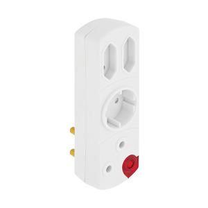 PnP Adaptor 3x16a 2x5a And Light