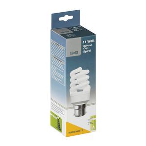PnP 11w Bc Ww Spiral Energy Savers
