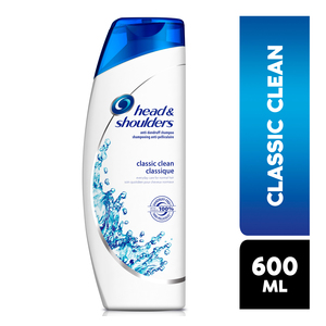 Head & Shoulders Hair Shampoo Classic 600ml