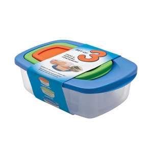 APS Rectangular Container Set 3 Piece