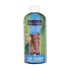 Herbex Fatburn Concentr Men Citrus 400ml