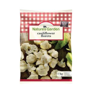 Natures Garden Cauliflower Florets 1kg x 12