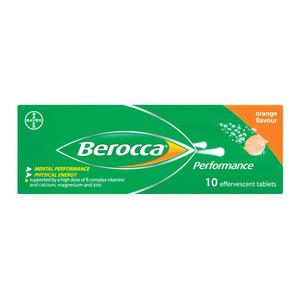 Berocca Performance Effervescent Tablets 10s