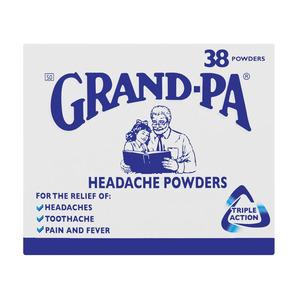 Grand-pa Headache Powders X 38