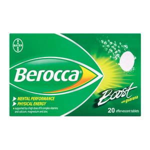 Berocca Boost Effervescent 20 Ea