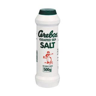 Cerebos Sea Salt In Flask 500g x 40
