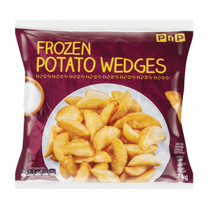 PnP Frozen Potato Wedges 1kg