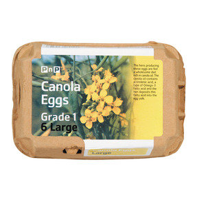 PnP Eggs Large Canola 6ea