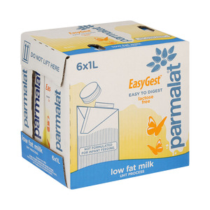 Parmalat Everfresh Easygest Uht Milk 1 Litre x 6