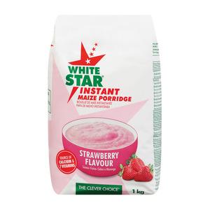 White Star Inst Maize Porridge Straw 1 Kg