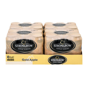 STRONGBOW GOLD APPLE CAN 440ML