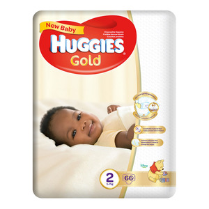 Huggies New Baby Size 1 From 2.5-5kg 26ea
