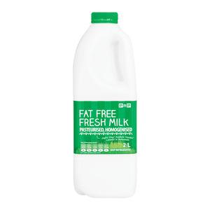 Pnp Fat Free Fresh Milk 2 Litre