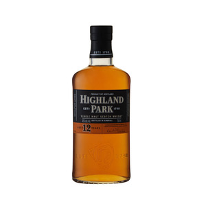 Highland Park 12 YO Single Malt Whisky 750ml