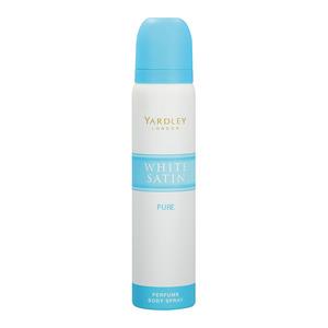 Yardley W/satin Per Body Spray Pure 90ml