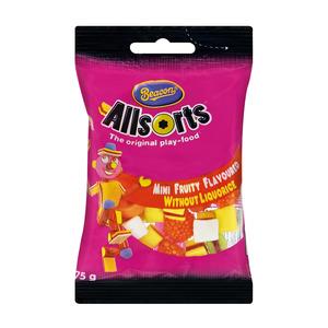 Beacon All Sorts Mini Fruit Liq uorice 75g