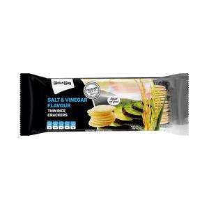 PnP Salt & Vinegar Thin Rice Cracker 100g