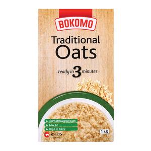 Bokomo Quick Cooking Regular Oats 1kg