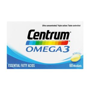 Centrum Omega 3 Gel Tablets 60ea