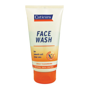 Cuticura Control Face Wash 1 50 ML