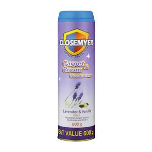 Closemyer Carpet & Room Deo Lavender & Vanilla 600g