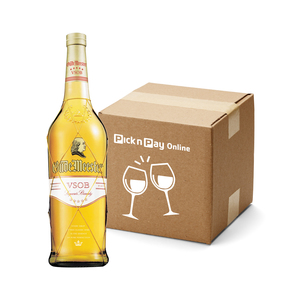 Oude Meester VSOB 5 Star Brandy 750ml x 12
