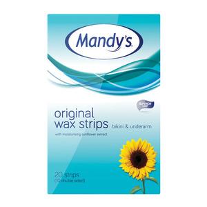 Mandys Bikini Wax Strips 20ea