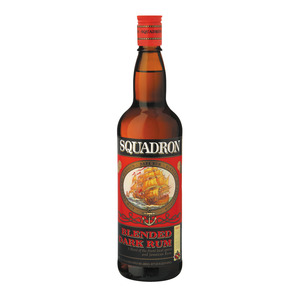 Squadron Blended Dark Rum 750ml