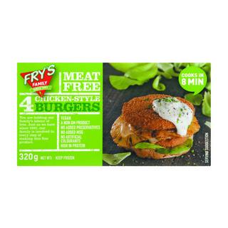 Fry's Chicken Style Burger 320g x 20