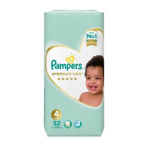 Pampers Premium Care Size 4 Maxi 7-18kg 52ea