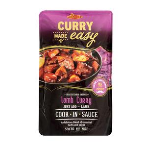 Pakco Lamb Curry Cook in Sau ce 400g