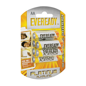 Eveready Alkaline Plus Aa 6p Battery 6